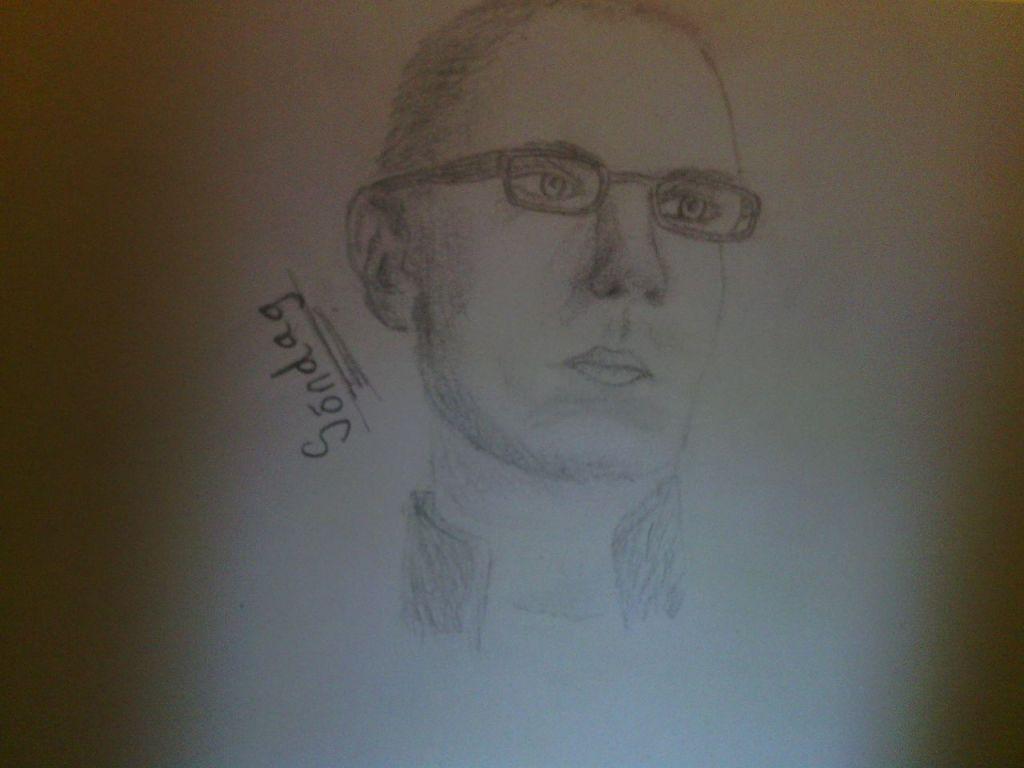glasögon, porträtt